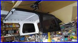 1976-2018 Jeep Wrangler CJ7 YJ TJ JK Hard Top Hoist and Rolling Rack Cart Kit
