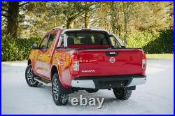 Armadillo Roll Top Cover and Stainless Steel Roll Bar for Nissan Navara NP300