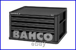 Bahco 1482K4BLACK E82 4 Drawer Top Chest Tool Box for E72 Roll Cabs Black