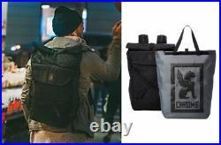 CHROME BG247BKLB Roll Top Backpack Bravo 3.0 Black Waterproof 21-30L Japan EMS
