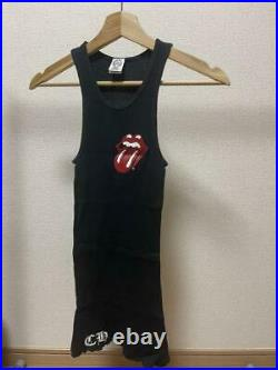 Chrome Hearts Tank Top Rolling Stones logo men's Small size