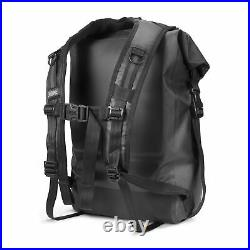 Chrome Industries Urban Ex 26l Rolltop Rucksack Black One Size