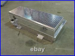 Diesel Fuel Auxiliary Fuel Tank and Toolbox Combination for Roll Top Bedcover