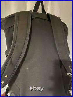 FILSON roll top Backpack Black USED From Japan F/S