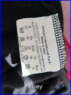 Fendi Vintage Black Roll Neck Wool Angora Tank Top Vest, It42, M