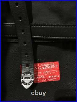 Filson Nanamica Goldwin RED LABEL Roll Top Bag Black Backpack Japan