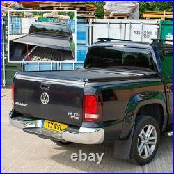 Fits Nissan Navara Black Roll Top Hard Roller Shutter Load Bed Cover Lockable