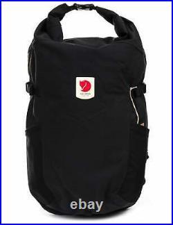 Fjallraven Ulvo 23L Rolltop Backpack Black