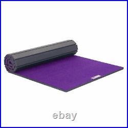 FlooringInc Gymnastics Carpet Top Roll Mat, Exercise, Tumbling, Stretching Cheer