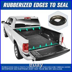 For 01-05 Explorer Sport Trac 4'2 Bed Soft Top Vinyl Roll Up Lock Tonneau Cover
