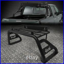 For 07-18 Silverado/sierra Styleside Bed Heavy Duty Roll Bar+roof Top Cargo Rack