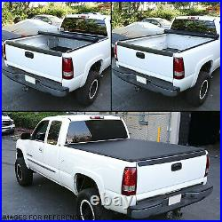 For 14-21 Ford Ranger Pickup Truck 5ft Bed Soft Vinyl Top Roll-up Tonneau Cover