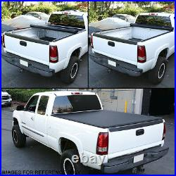 For 2016-2018 Toyota Tacoma 5 Ft Fleetside Bed Soft Top Roll-up Tonneau Cover
