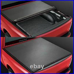 For 2019-2021 Ram 1500 6.5' Bed Fleetside Vinyl Soft Top Roll-Up Tonneau Cover