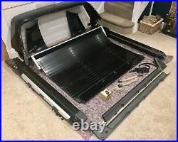 Ford Ranger Pro Top Black Roller Shutter Tonneau Cover & Wildtrak Sport Roll Bar