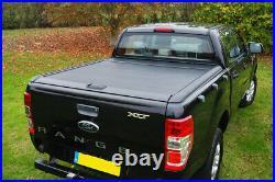 Ford Ranger Roller Shutter Roll Top Cover Black 2012-2021