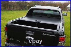 Ford Ranger Wildtrak Black Roller Shutter Roll Top Cover Tonneau Cover