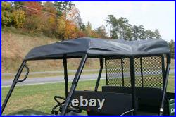 Kawasaki Mule 4010 Trans Roll Cage Soft Top Roof Black