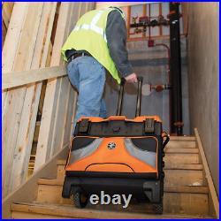 Klein Tools 55473Rtb Rolling Tool Bag, Tradesman Pro Tool Master, 250Lbs Load Ra