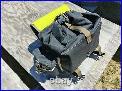 MINT Ron's Bikes / Swift Industries Fabios Chest Handlebar Bag Black X-Pac