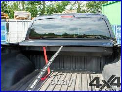 Mitsubishi L200 2015 Black Roll Top Hard Roller Shutter Load Bed Cover Lockable