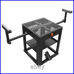 Multi-Purpose Tool Stand Rolling Planer Miter Saw Table Top with Extension Rollers