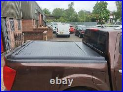 Navara NP300 2016-21 BLACK Roller Shutter Roll Top Mountaintop Roll + Delivery