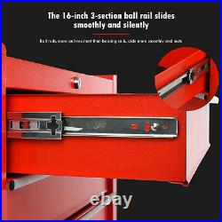 Portable Toolbox Tool Top Chest Box Rollcab Roll Cab Cabinet Garage Storage