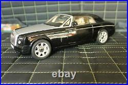 RAR VIP 118 Rolls Royce Phantom Coupe Diamond black High End OVP TOP