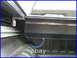 Roll-Slide Roller Shutter Black Roll and Lock Top Cover Nissan Navara Double Cab