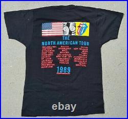 Rolling Stones shirt Steel Wheels original 1989 top condition RaRe XL