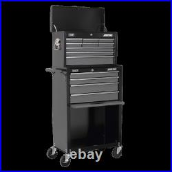 Sealey AP2513B Roll Cab Top Chest Combo Tool Box Ball Bearing Runners Slides New