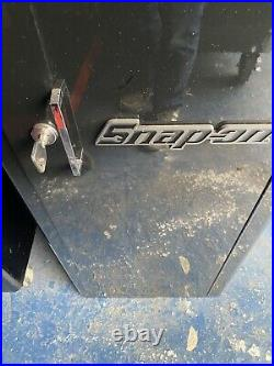 Snap On 40in Black Stack Roll Cab + Snap On Side Locker + Snap On Wooden Top