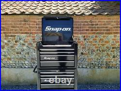 Snap On Lock And Roll Top And Bottom Tool Box Chest 26 Stack Storage Toolbox