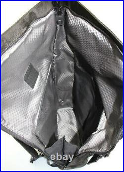 TUMI'Alpha Bravo London' Black Nylon Roll Top Backpack 232388D