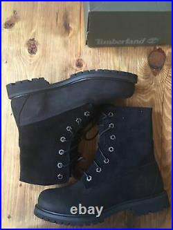 Timberland AUTHENTICS ROLL-TOP BOOT FOR WOMEN IN BLACK Uk 4.5