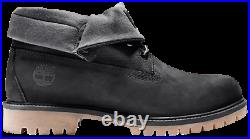 Timberland Roll Top Boot Black Nubuck TB0A1S5P 001