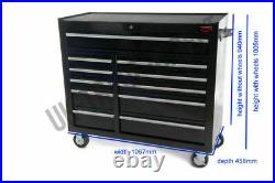 Tool Chest Professional Mechanics Roll Cab Top Box With US Ball Bearing Slides