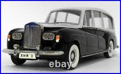 Top Marques 1/43 Scale 1959 Rolls Royce Phantom V Hearse Black/Grey