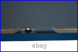 Toyota Hilux 05-15 Tesser Roller Shutter Roll Top Tonneau Cover Black