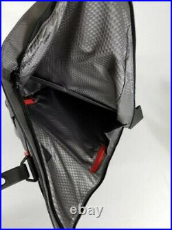 Tumi Alpha Bravo London Roll-Top Backpack Gray Nylon withBlack Leather 232388SGRY