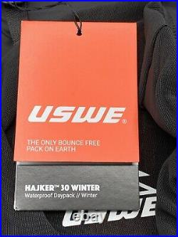 USWE Hajker 30L Winter Backpack with Waterproof Rolltop for Hiking and Skiing