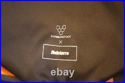 VIVObarefoot x finisterre waterproof rucksack (rolltop) in black and orange BNWT