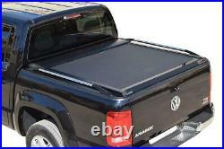 VW Amarok Roll Top Cover Hard Aluminium Roller Shutter Roll N Lock Tesser Black