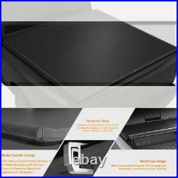 Vinyl Soft Top Roll-up Tonneau Cover for 07-14 Silverado/Sierra 6.5ft Short Bed