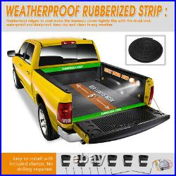 Vinyl Soft Top Roll-up Tonneau Cover for 16-21 Tacoma Pickup Fleetside 5ft Bed