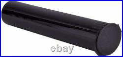 W Gallery 1000 98MM Black Doob Pop Tops Tubes for Storing Pre Rolled RAW Cones